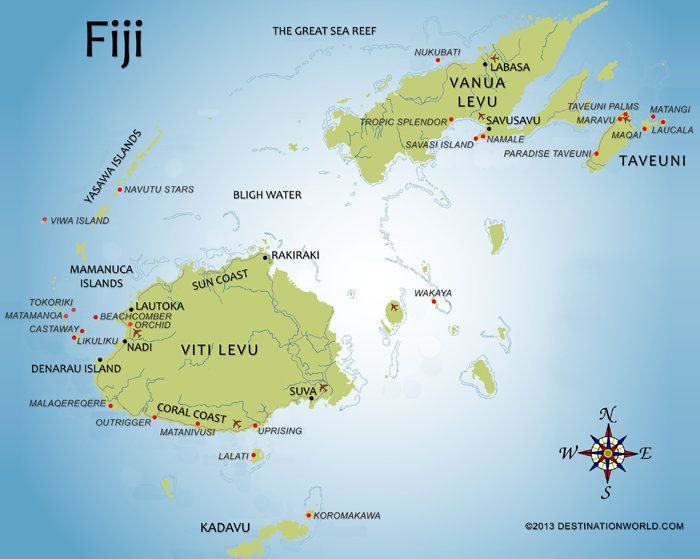 Where is Fiji Islands